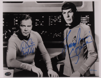 "William Shatner & Leonard Nimoy Signed LE ""Star Trek"" 11x14 Photo Inscribed ""Captain Kirk"" & ""Spock"" (PSA COA) at PristineAuction.com"
