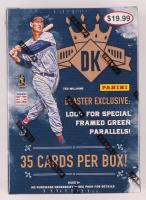 2017 Panini Donruss Diamond Kings Baseball Blaster Box of (35) Cards at PristineAuction.com
