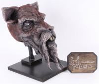 "Kevin Eastman Signed ""Teenage Mutant Ninja Turtles"" - Master Splinter - Life-Size Hand-Painted Sculpture by Tate Steinsiek (PA COA) (1/1) at PristineAuction.com"