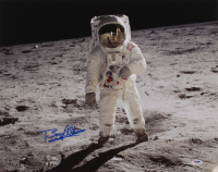 Buzz Aldrin Signed 16x20 Photo (PSA COA) at PristineAuction.com