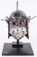 """Kevin Eastman Signed """"Teenage Mutant Ninja Turtles"""" - Shredder - Life-Size Hand-Painted Sculpture by Tate Steinsiek (PA COA) (1/1) at PristineAuction.com"""