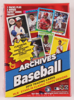 2019 Topps Archives Baseball Blaster Box of (56) Cards at PristineAuction.com