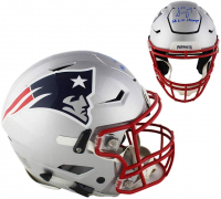 """Sony Michel Signed Patriots Full-Size Authentic On-Field Speedflex Helmet Inscribed """"SB LIII Champs"""" (Beckett COA) at PristineAuction.com"""