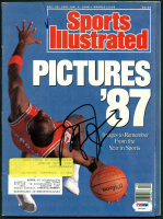 Michael Jordan Signed 1987-1988 Sports Illustrated Magazine (PSA LOA) at PristineAuction.com
