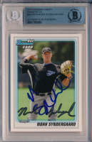 Noah Syndergaard Signed 2010 Bowman Draft Prospects #BDPP75 (BGS Encapsulated) at PristineAuction.com