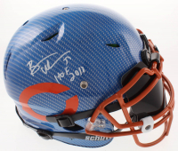"""Brian Urlacher Signed Bears Full-Size Authentic On-Field Hydro-Dipped Vengeance Helmet Inscribed """"HOF 2018"""" with Black Visor (Beckett COA) at PristineAuction.com"""