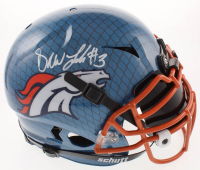 Drew Lock Signed Broncos Full-Size Authentic On-Field Hydro-Dipped Vengeance Helmet with Black Visor (Beckett COA) at PristineAuction.com