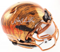 Nick Chubb Signed Browns Full-Size Authentic On-Field Hydro-Dipped Vengeance Helmet with Silver Visor (JSA COA) at PristineAuction.com