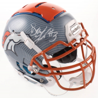 Drew Lock Signed Broncos Full-Size Authentic On-Field Hydro-Dipped F7 Helmet (Beckett COA) at PristineAuction.com