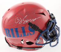 O.J. Simpson Signed Bills Full-Size Authentic On-Field Hydro-Dipped Vengeance Helmet with Black Visor (JSA COA) at PristineAuction.com
