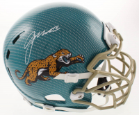 Gardner Minshew Signed Jaguars Full-Size Authentic On-Field Hydro-Dipped Youth Helmet (Beckett COA) at PristineAuction.com