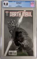 "2017 ""Darth Maul"" Issue #1 1:100 Rod Reis Sketch Variant Marvel Comic Book (CGC 9.8) at PristineAuction.com"