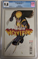"2016 ""All-New Wolverine"" Issue #1 1:25 David Lopez Variant Marvel Comic Book (CGC 9.8) at PristineAuction.com"