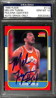 Mel Turpin Signed 1986-87 Fleer #116 (PSA Encapsulated) at PristineAuction.com