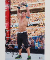 John Cena Signed 10x12 Photo (Beckett COA) at PristineAuction.com