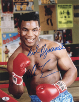 """Mike Tyson Signed 11x14 Photo Inscribed """"Kid Dynamite"""" (Beckett COA) at PristineAuction.com"""