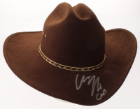 "Chandler Riggs Signed ""The Walking Dead"" Carl Grimes Sheriff Hat Inscribed ""Carl"" (Radtke Hologram) at PristineAuction.com"