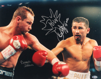 "Bones Adams & Paulie Ayala Signed 16x20 Photo Inscribed ""Pow"" & ""2002"" (Beckett COA) at PristineAuction.com"