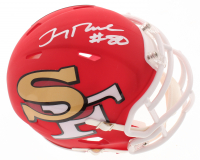 Jerry Rice Signed 49ers AMP Alternate Speed Mini Helmet (Beckett COA) at PristineAuction.com