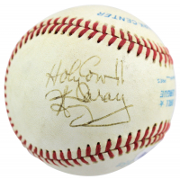 """Harry Caray Signed OAL Baseball Inscribed """"Holy Cow!!"""" (PSA COA) at PristineAuction.com"""