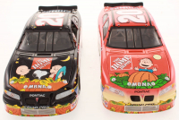 Lot of (2) Tony Stewart LE 1:24 Scale Die Cast Cars with #20 Home Depot In Search of The Great Pumpkin 2002 Pontiac Grand Prix  & #20 Home Depot / It's the Great Pumpkin 2002 Pontiac Grand Prix at PristineAuction.com