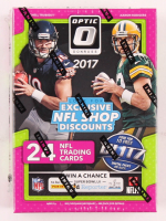 2017 Panini Donruss Optic Football Blaster Box of (24) Cards at PristineAuction.com