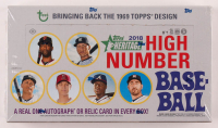 2018 Topps Heritage High Number Baseball Hobby Box of (216) Cards at PristineAuction.com