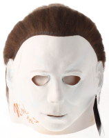 "Nick Castle Signed ""Halloween"" Michael Myers Mask Inscribed ""The Shape"" (Radtke COA) at PristineAuction.com"