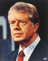 Jimmy Carter Signed 16x20 Photo (Beckett COA) at PristineAuction.com