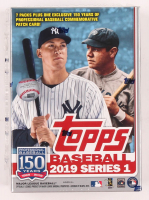 2019 Topps Series 1 Baseball Blaster Box of (99) Cards at PristineAuction.com