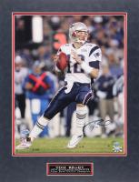 Tom Brady Signed Patriots 20x26 Custom Matted Photo (TriStar Hologram) at PristineAuction.com