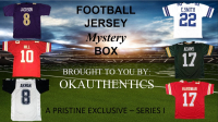 OKAuthentics Pro Football Jersey Mystery Box - Series 1 (Limited to 100) at PristineAuction.com