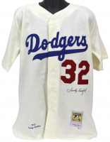 Sandy Koufax Signed Dodgers Jersey (MLB Hologram) at PristineAuction.com