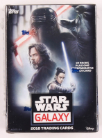2018 Topps Star Wars Galaxy Blaster Box of (61) Cards at PristineAuction.com