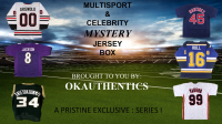OKAuthentics Multisport & Celebrity Jersey Mystery Box - Series 1 (Limited to 100) at PristineAuction.com