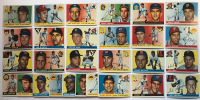 Lot of (28) 1955 Topps Baseball Cards with #125 Ken Boyer, #130 Mayo Smith, #63 Joe Collins, #81 Gene Conley, #84 Camilo Pasqual, #127 Dale Long at PristineAuction.com