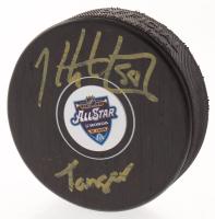 "Kris Letang Signed 2020 All-Star Logo Hockey Puck Inscribed ""Tanger"" (Letang COA) at PristineAuction.com"