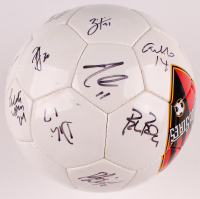 2003 Metrostars Soccer Ball Team-Signed by (20) with Clint Mathis, Eddie Pope, Steve Jolley, Eddie Gaven with Multiple Inscriptions (Beckett LOA) at PristineAuction.com