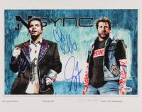 Joey Fatone & Chris Kirkpatrick Signed NSYNC 11x14 Photo (PSA COA) at PristineAuction.com