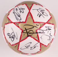 2010 A.C. Milan Soccer Ball Team-Signed by (15) with Ronaldinho, Dida, Gennaro Gattuso, Giuseppe Favalli with Multiple Inscriptions (Beckett LOA) at PristineAuction.com