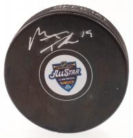 Matthew Tkachuk Signed 2020 All-Star Logo Hockey Puck (Tkachuk COA) at PristineAuction.com