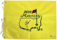 Jack Nicklaus Signed 2010 Master's Pin Flag (Beckett LOA) at PristineAuction.com