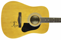 James Taylor Signed Silvertone Acoustic Guitar (Beckett COA) at PristineAuction.com