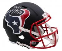 DeAndre Hopkins Signed Texans Full-Size Matte Black Speed Helmet (JSA COA) at PristineAuction.com