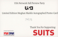 "Meghan Markle Signed ""Suits"" 5.5x8.5 Photo (JSA LOA & PSA Hologram) at PristineAuction.com"
