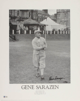 "Gene Sarazen Signed 16x20 Poster Inscribed ""1996"" (Beckett COA) at PristineAuction.com"
