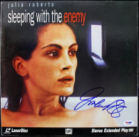 """Julia Roberts Signed """"Sleeping with the Enemy"""" LaserDisc Cover (PSA COA) at PristineAuction.com"""