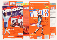 Michelle Akers Signed Wheaties Cereal Box (Beckett COA) at PristineAuction.com