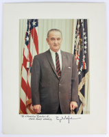 "Lyndon B. Johnson Signed 7.5x10 Photo Inscribed ""With Best Wishes"" (Beckett LOA) at PristineAuction.com"