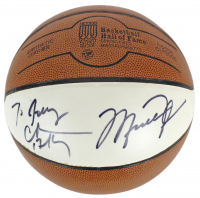 Michael Jordan & Charles Barkley Signed HOF Basketball (Beckett COA) at PristineAuction.com